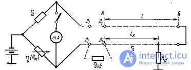 8.4 Определение постоянным током расстояния до места повреждения